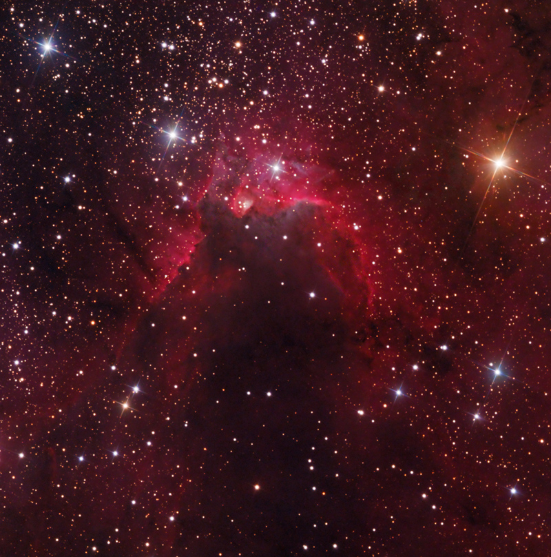 Cave Nebula - Pics about space