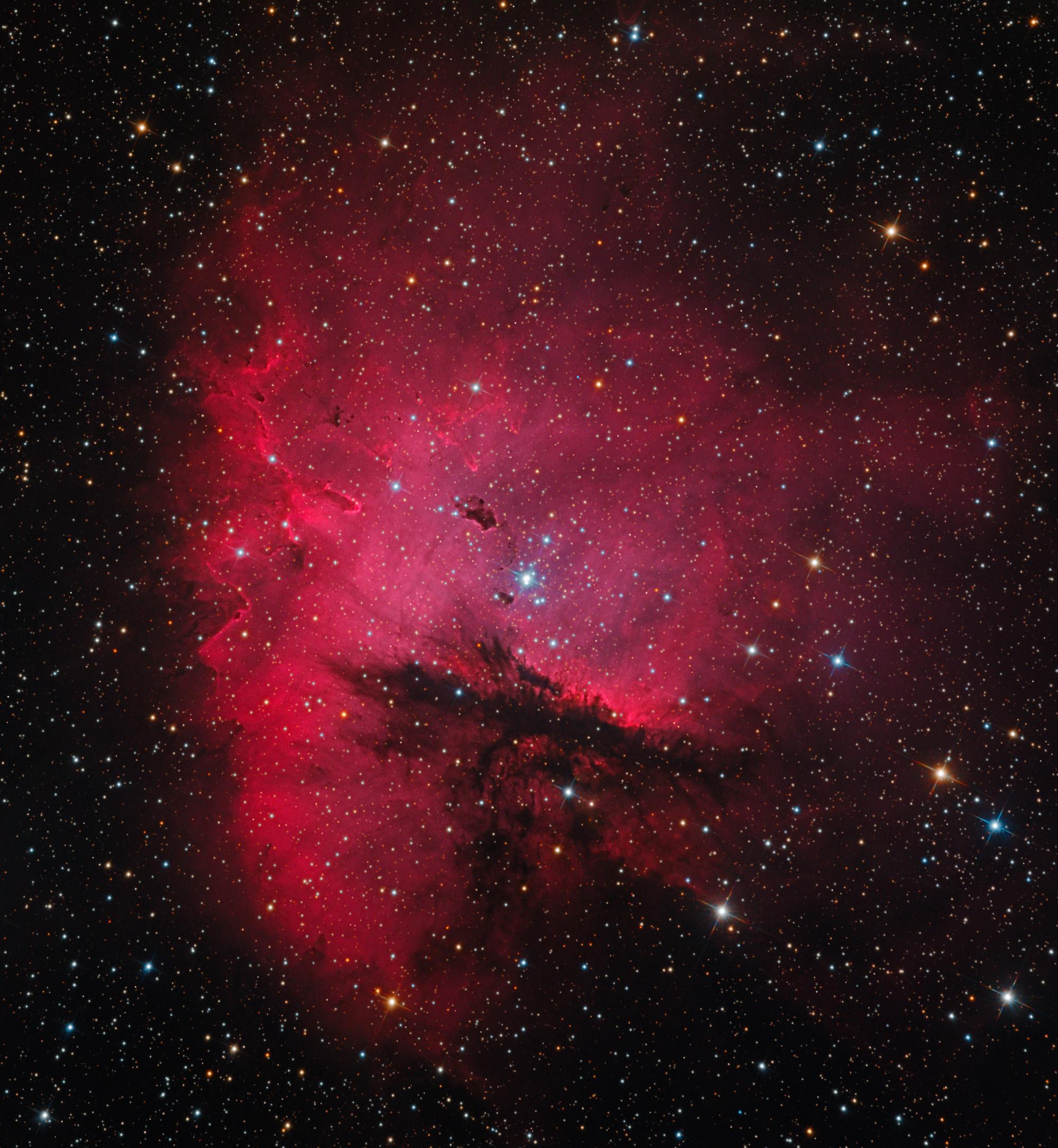 pacman nebula - photo #6