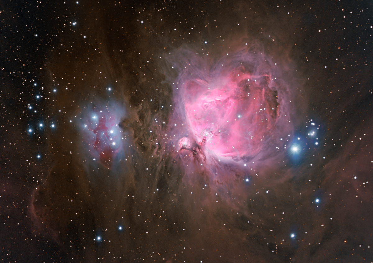 S And B Filters >> Sword of Orion M42 NGC 1973-75-77
